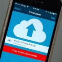 Загрузка файла на Айфон