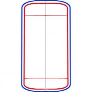 рисуем айфон