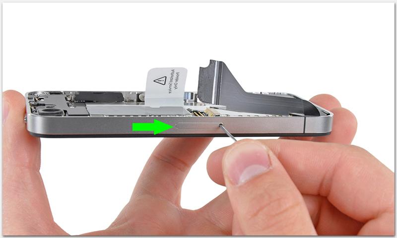 Как вытащить SIM-карту из iPhone 4S? - Macster