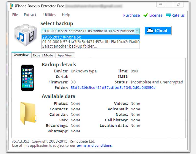 Скачать бесплатно программу iphone backup extractor