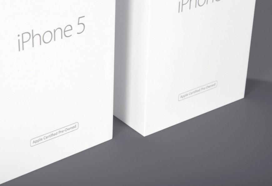 упаковка айфона