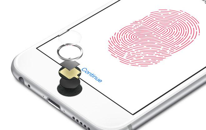 touch ID у нового айфона 8
