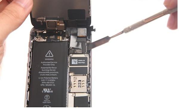 разобрать корпус айфона