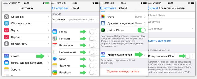 Как синхронизировать айфон в icloud
