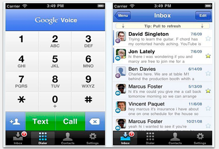 google-voice-screen