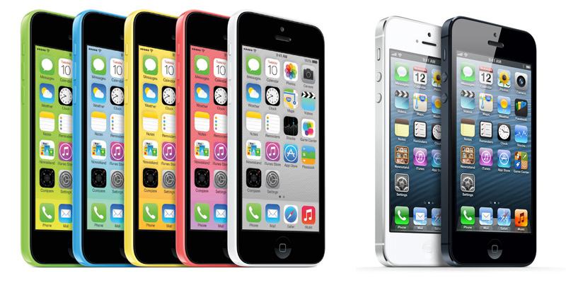 iPhone 5C и 5S