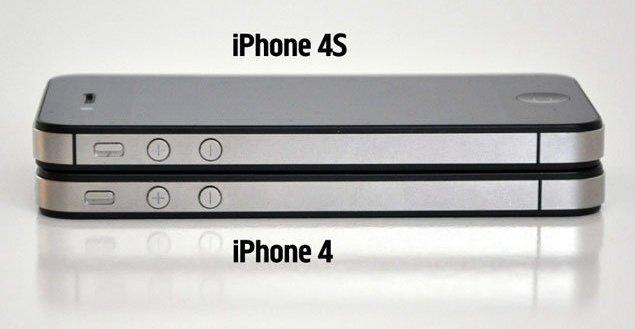 Отличительные особенности моделей 4 и 4S