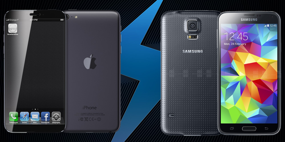 iPhone 6 Plus vs Samsung Galaxy S5